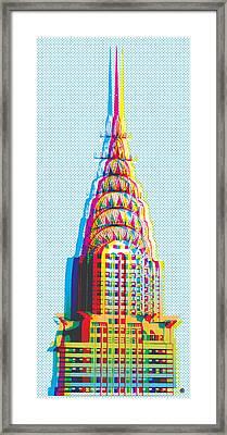 Chrysler Pop Art Framed Print