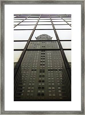 Chrysler Reflections Framed Print
