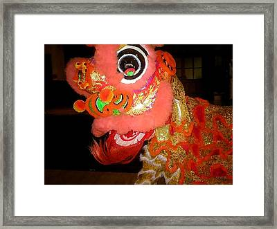 Chua Truc Lam Dragon Framed Print by Shawn Lyte