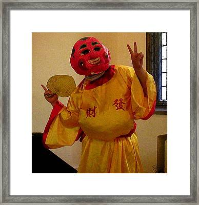 Chua Truc Lam Fan Man Framed Print by Shawn Lyte