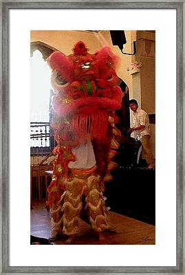 Chua Truc Lam One Man Dragon Framed Print by Shawn Lyte