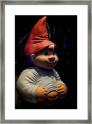 Chubby Elf Framed Print by Odd Jeppesen