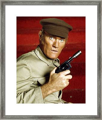 Chuck Connors In Soylent Green  Framed Print by Silver Screen