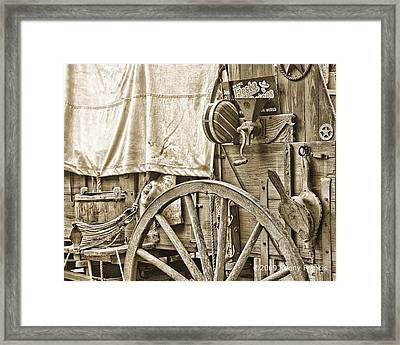 Chuck Wagon Framed Print by Kenny Francis