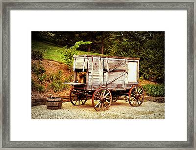 Chuck Wagon Framed Print by Mary Timman