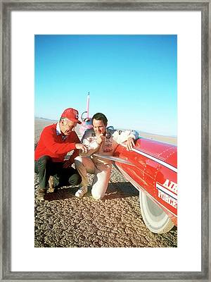 Chuck Yeager And Stan Barrett Framed Print