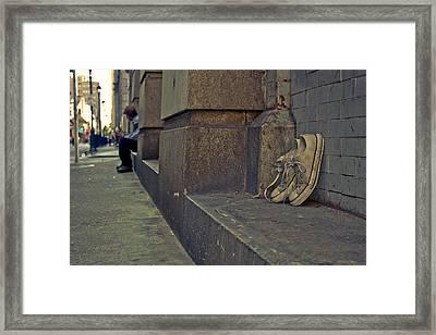 Chucks Framed Print by Brittany Salerno