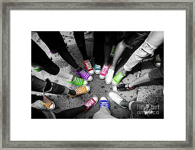 Chuck's Framed Print
