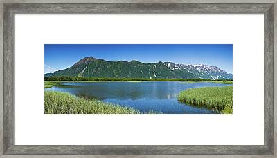 Chugach Mountains At Prince William Framed Print