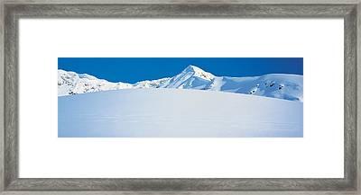 Chugach Mountains Girdwood, Alaska, Usa Framed Print by Panoramic Images