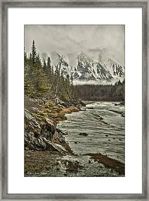 Chugach Range Framed Print