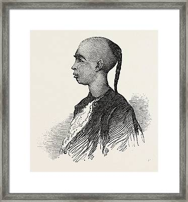 Chui-a-poo, The Chinese Pirate, Died 1851 Framed Print