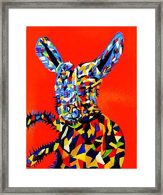 Framed Print featuring the painting Chump  by Inga Kirilova