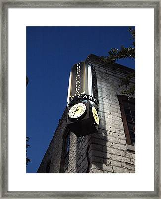 Chupaca Bar In Austin Texas Framed Print by James Granberry