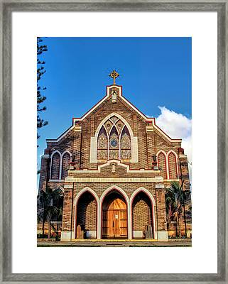 Framed Print featuring the photograph Church 1 by Dawn Eshelman