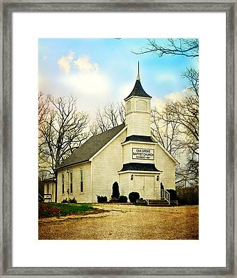 Framed Print featuring the photograph Church 12 by Marty Koch