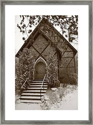 Church Algoma University Framed Print