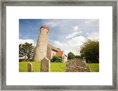 Church And Churchyard Framed Print by Ashley Cooper