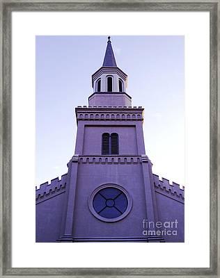 Church Framed Print by Andrea Anderegg