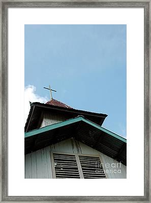 Church Framed Print by Antoni Halim