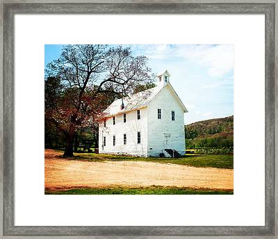 Framed Print featuring the photograph Church At Boxley by Marty Koch