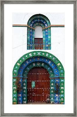 Church At San Juan Chamula 2 Framed Print