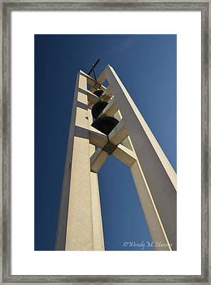 Church Bells 2 Framed Print by Wendy Hansen-Penman