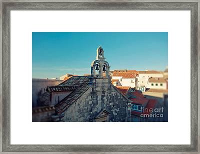 Church Bells Framed Print by Erin Johnson