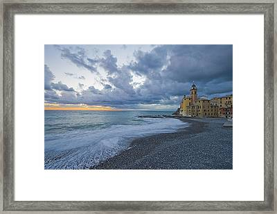 Church By The Sea Framed Print by Giuseppe Digno