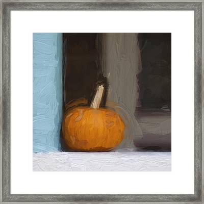 Church Camp House Detail Painterly Series 13 Framed Print by Carol Leigh