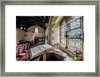 Church Chronicles Framed Print