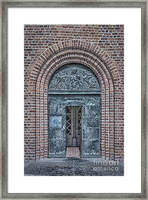 Church Doors 02 Framed Print