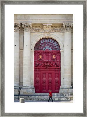 Church Doors Framed Print