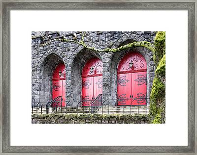 Church Doors Framed Print