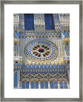 Church - Eglise De Sainte Anne - Ile De La Reunion - Reunion Island Framed Print by Francoise Leandre