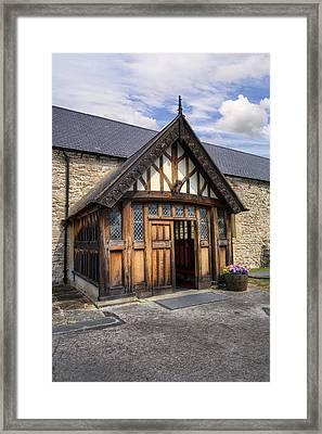 Church Entrance Framed Print by Ian Mitchell