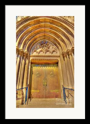 Abbey Greeting Structure Framed Prints