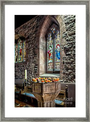 Church Fruits Framed Print