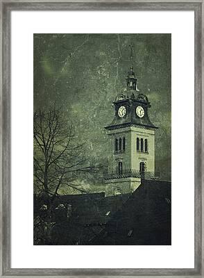 Church In Saxony Framed Print