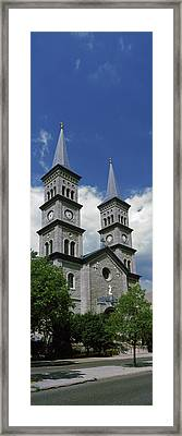 Church In A City, Church Framed Print by Panoramic Images
