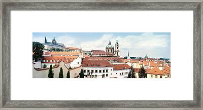 Church In A City, St. Nicholas Church Framed Print by Panoramic Images