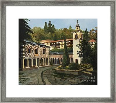 Church In Blagoevgrad Framed Print