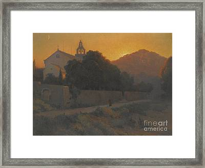 Church In Dubrovnik Framed Print by Celestial Images