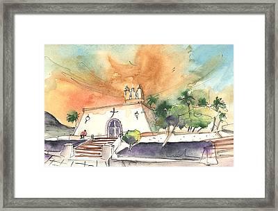 Church In Playa Blanca In Lanzarote Framed Print