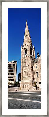 Church In The City, Trinity United Framed Print by Panoramic Images
