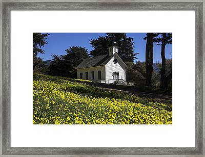 Church In The Clover Framed Print