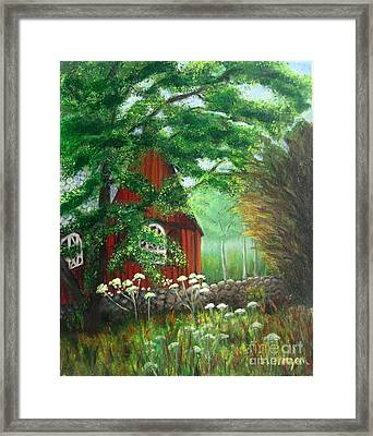 Church In The Glen Framed Print