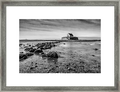Church In The Sea Framed Print