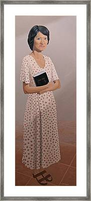 Church Lady Framed Print