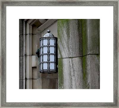 Church Lamp Framed Print by Chris Thomas